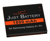 original JuBaTec Akku für Samsung Galaxy S GT-i9000 mit 1800 mAh ersetzt EB-575152VU