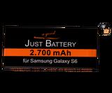 original JuBaTec Akku für Samsung Galaxy S6 SM-G920F mit 2700 mAh ersetzt EB-BG920ABE inkl. Werkzeugset
