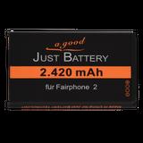 2420 mAh original JuBaTec Akku für Fairphone 2