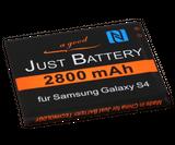original JuBaTec Akku für Samsung Galaxy S4 Value Edition GT-i9515 mit NFC und 2800 mAh ersetzt EB-B600BE