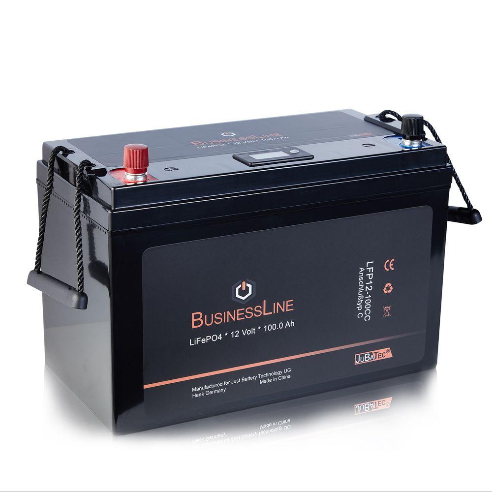 LiFePO4 Akku 100Ah / 12V mit BMS (Batterie Management System)