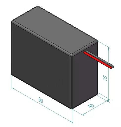 LiFePO4 Akku 24V 1.5Ah mit BMS (Batterie Management System)