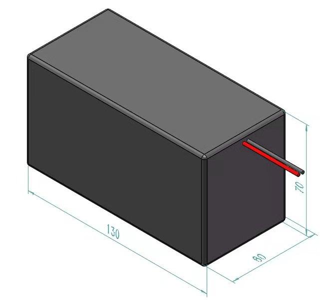 LiFePO4 Akku 24V 3Ah mit BMS (Batterie Management System)