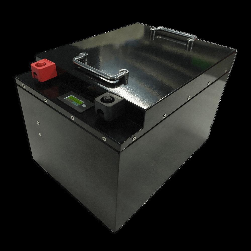 LiFePO4 Akku 12V 400Ah mit BMS (Batterie Management System)