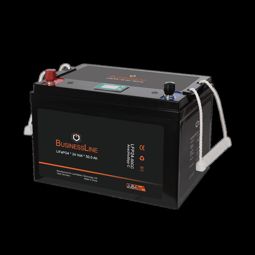 LiFePO4 Akku 24V 50Ah mit BMS (Batterie Management System)