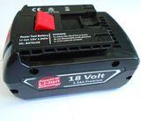 JuBaTec Akku für Bosch 2607336236 / 2 607 336 236 * 18V - 5,0 Ah * Li-Ion